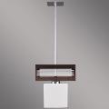 Lámpara colgante SANGA 1xE14/60W marrón