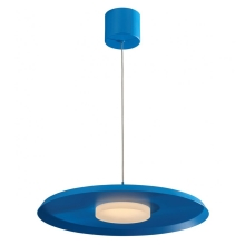 Lámpara LED colgante LED/11W/230V azul