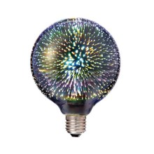 LED 3D Bombilla decorativa FILAMENT G125 E27/3W/230V 3000K