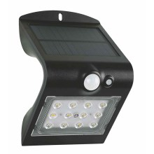 LED Aplique solar con sensor LED/1,5W IP65