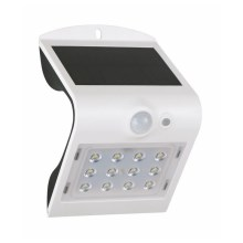 LED Aplique solar con sensor LED/2W IP65