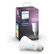 LED Bombilla regulable Philips HUE WHITE AND COLOR AMBIANCE E27/9W/230V 2000-6500K
