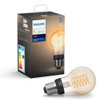 LED Bombilla regulable Philips HUE WHITE FILAMENT A60 E27/7W/230V 2100K