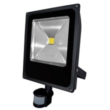 LED Reflector con sensor de movimiento DAISY LED/50W/230V IP44