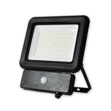 LED Reflector con sensor LED/50W/230V IP65 4000K