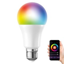 LED RGB Bombilla regulable SMART E27/10W/230V 3000-6500K  Wi-fi Tuya