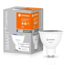 LED RGBW Bombilla regulable SMART+ GU10/5W/230V 2700K-6500K wi-fi - Ledvance