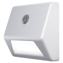 Ledvance - LED Iluminación de escaleras con sensor NIGHTLUX LED/0,25W/3xAAA IP54