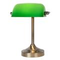 Lucide 17504/01/03 - Lámpara de mesa BANKER 1xE14/ESL 11W/230V
