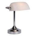 Lucide 17504/01/11 - Lámpara de mesa BANKER 1xE14/ESL 11W/230V