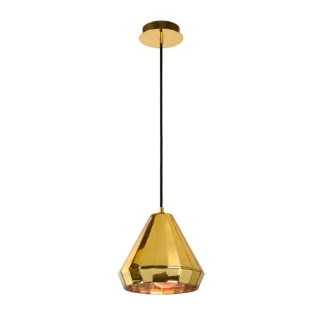 Lucide 34432/01/01 - Lámpara colgante LYNA 1xE27/40W/230V dorado