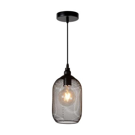 Lucide 43404/15/30 - Lámpara colgante MESH 1xE27/60W/230V