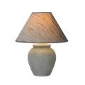 Lucide 47507/81/36 - Lámpara de mesa RAMZI 1xE27/40W/230V v.42cm