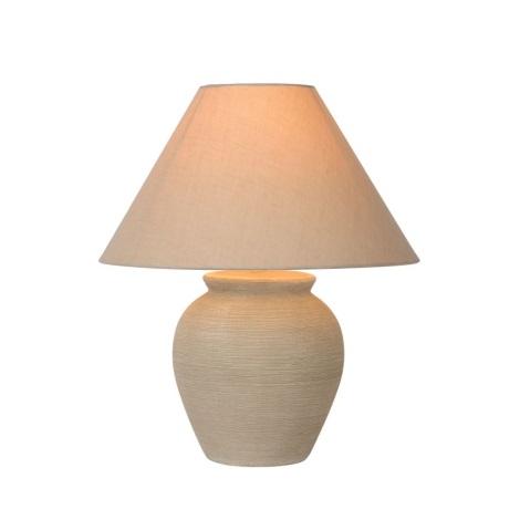 Lucide 47507/81/38 - Lámpara de mesa RAMZI 1xE27/60W/230V