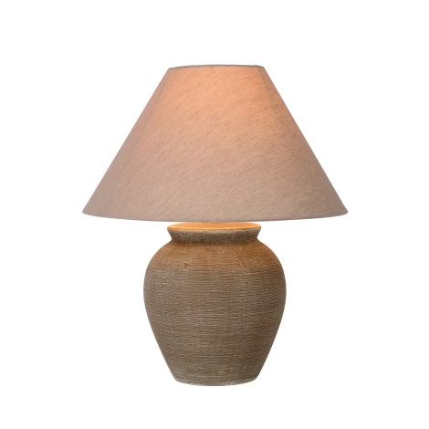 Lucide 47507/81/43 - Lámpara de mesa RAMZI 1xE27/40W/230V v.42cm