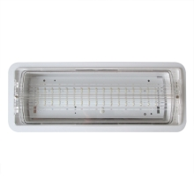 Luz de emergencia empotrable LED/1,74W/230V IP65 IP54