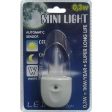 Luz enchufable MINI-LIGHT (luz blanca)