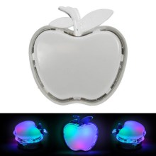 Luz nocturna LED con enchufe integrado APPLE LED/0,4W/230V