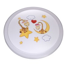 MW-LIGHT - Plafón LED infantil SMILE LED/30W/230V