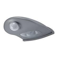 Osram - Aplique LED exterior con sensor DOORLED LED/0,55/3xAA IP54