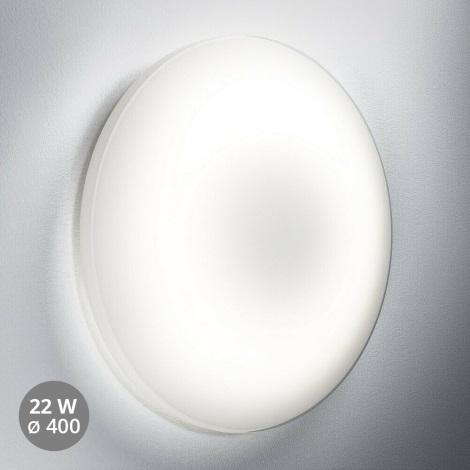 Osram - Lámpara LED con sensor para exterior SILARA LED/22W/230V IP44