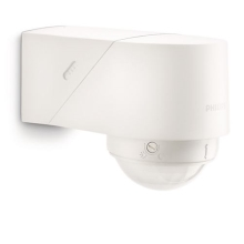 Philips 17266/31/16 - Sensor de movimiento exterior MYGARDEN BLUESKY blanco IP44