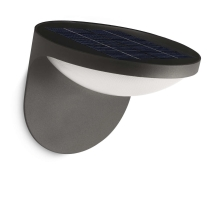 Philips 17807/93/16 - LED Iluminación solar MYGARDEN DUSK 1xLED/1,5W/230V IP44