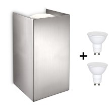 Philips 33012/17/PN - LED Aplique GABARDINE 2xGU10/6W/230V