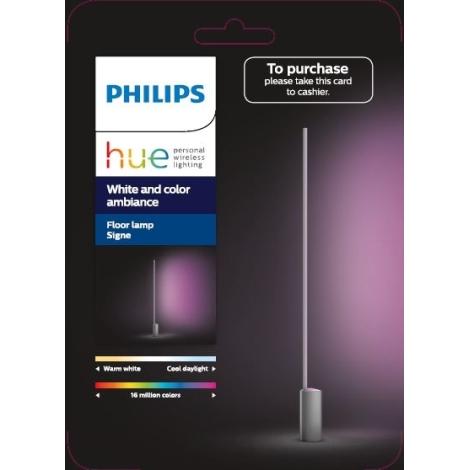 Philips 4080248P7 de HUE pie LED SIGNE Lámpara RGB LED32W230V WED92HI