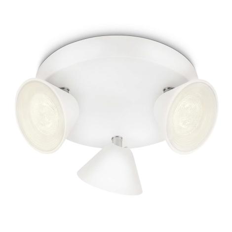 Philips 53289/31/16 - Foco LED TWEED 3xLED/3W/230V