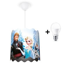 Philips 71751/01/16 - Lámpara colgante LED infantil DISNEY FROZEN 1xE27/9W/230V