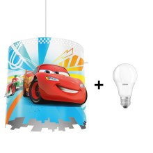 Philips 71751/32/16 - LED Lámpara colgante infantil DISNEY CARS 1xE27/8,5W/230V