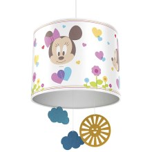 Philips 71753/31/16 - Lámpara colgante infantil DISNEY MINNIE 1xE27/23W/230V