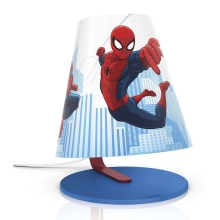 Philips 71764/40/26 - Lámpara de mesa LED infantil MARVEL SPIDER-MAN LED/3W/230V