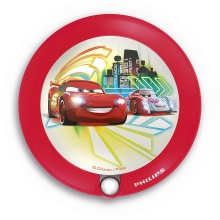 Philips 71765/32/16 - Luz LED nocturna infantil DISNEY CARS 1xLED/0,06W/3V