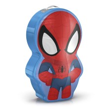 Philips 71767/40/16 - Linterna LED infantil MARVEL SPIDER-MAN 1xLED/0,3W/2xAAA