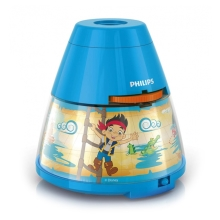 Philips 71769/05/16 - LED Proyector infantil DISNEY PIRATE LED/0,1W/3xAA