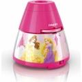 Philips 71769/28/16 - Lámpara infantil con proyector DISNEY PRINCESS LED/0,1W/3xAA
