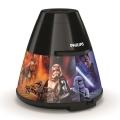 Philips 71769/30/P0 - LED Proyector DISNEY STAR WARS LED infantil/0,1W/3xAA