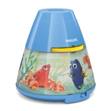 Philips 71769/90/16 - Proyector infantil DISNEY FINDING DORY LED/0,1W/3xAAA