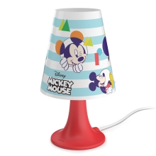 Philips 71795/30/16 - Lámpara de mesa infantil DISNEY MICKEY MOUSE LED/2,3W/230V