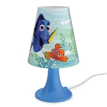 Philips 71795/90/16 - Lámpara de mesa infantil DISNEY FINDING DORY LED/2,3W/230V