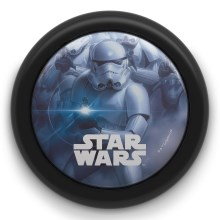 Philips 71924/30/P0 - Lámpara táctil infantil STAR WARS LED/0,3W/2xAAA