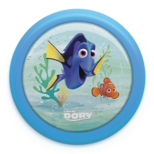 Philips 71924/35/P0 - Lámpara táctil infantil DISNEY FINDING DORY LED/0,3W/2xAAA