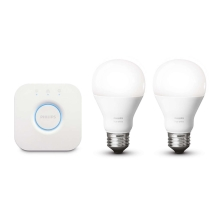 Philips 8718696449554 - Set básico HUE STARTER KIT 2xE27/9,5W