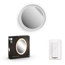Philips - LED Espejo con iluminación regulable LED/27W/230V + control remoto