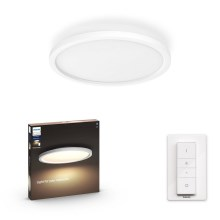 Philips - LED Plafón regulable LED/24,5W/230V + control remoto