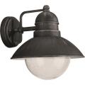 Philips Massive 17237/54/10 - Lámpara exterior DAMASCUS 1xE27/60W gris