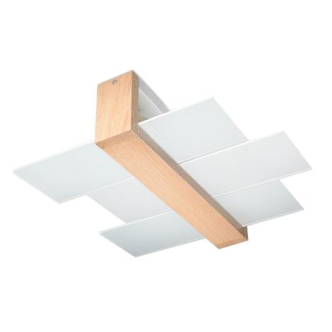 Plafón FENIKS 2 2xE27/60W/230V madera