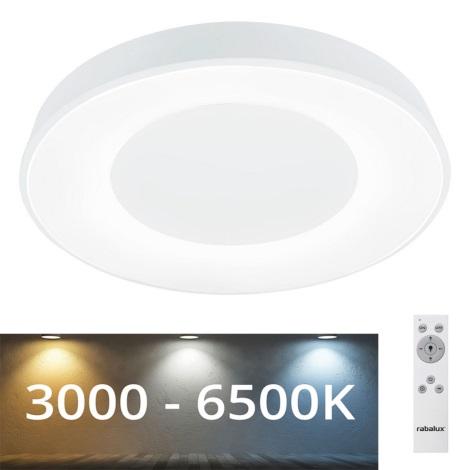 Rabalux - Plafón LED Regulable LED/38W/230V blanco + CR 3000-6500K